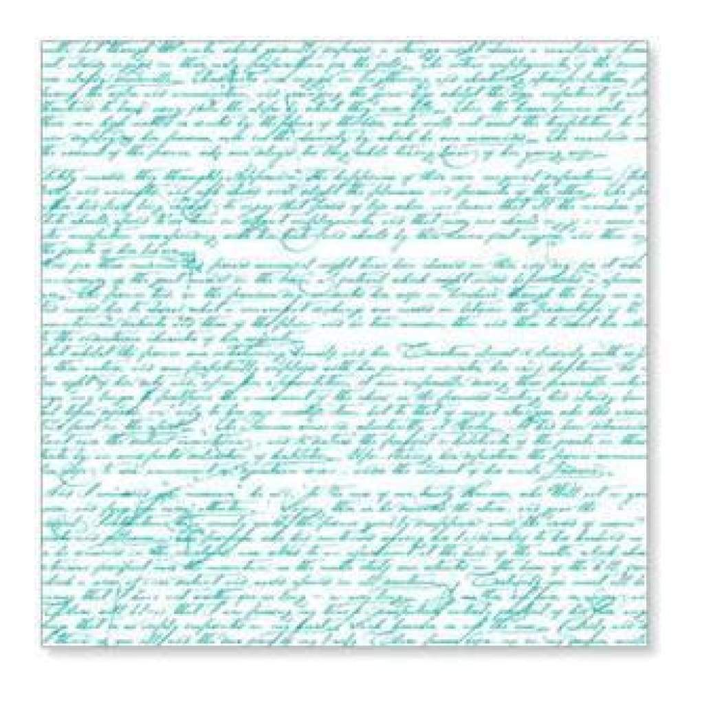 Hambly Screen Prints - Pen & Ink Overlay - Teal Blue (Pack Of 5)