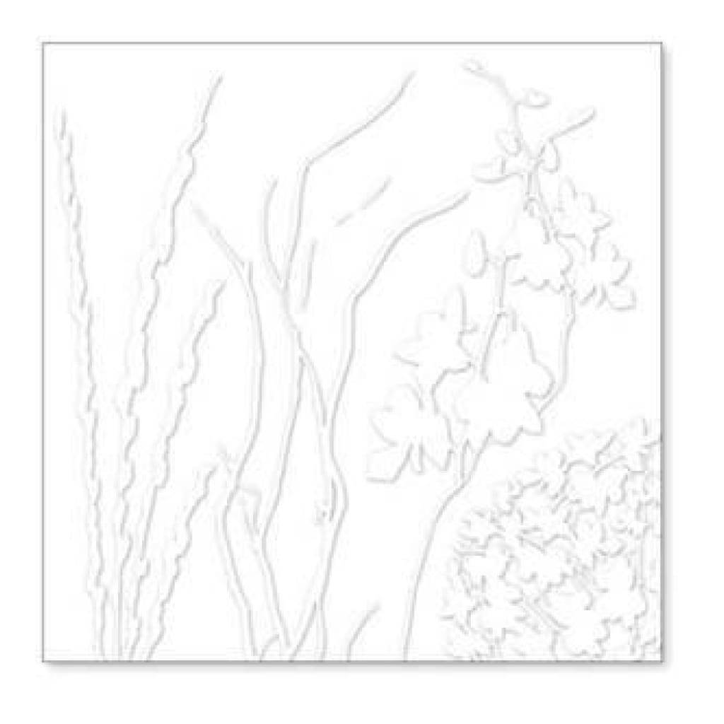 Hambly Screen Prints - Twigs & Weeds Overlay - White (Pack Of 5)