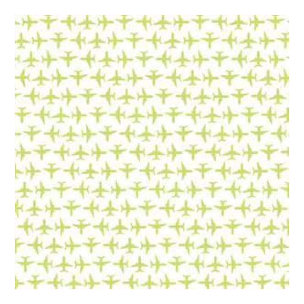 Hambly Screen Prints - Up Up & Away Overlay - Antique Lime (Pack Of 5)