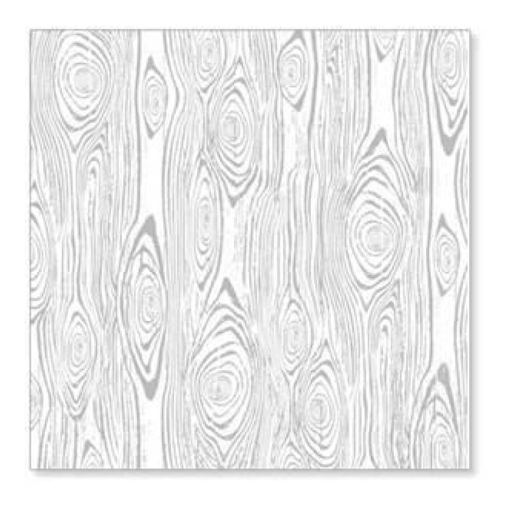 Hambly Screen Prints - Woodgrain Remix Overlay - Metallic Silver (Pack Of 5)