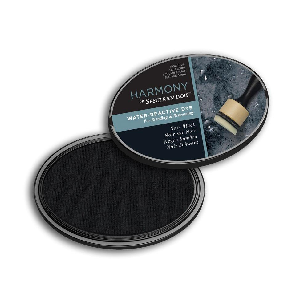 Spectrum Noir Harmony Water Reactive Ink Pad - Noir Black