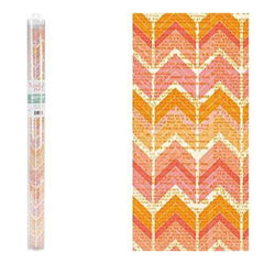 Hazel & Ruby Wrap It Up Paper Roll Crazy For Chevy Corals 18Inch X144inch