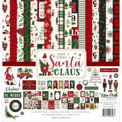 Echo Park - Collection Kit 12 inch X12 inch - Here Comes Santa Claus