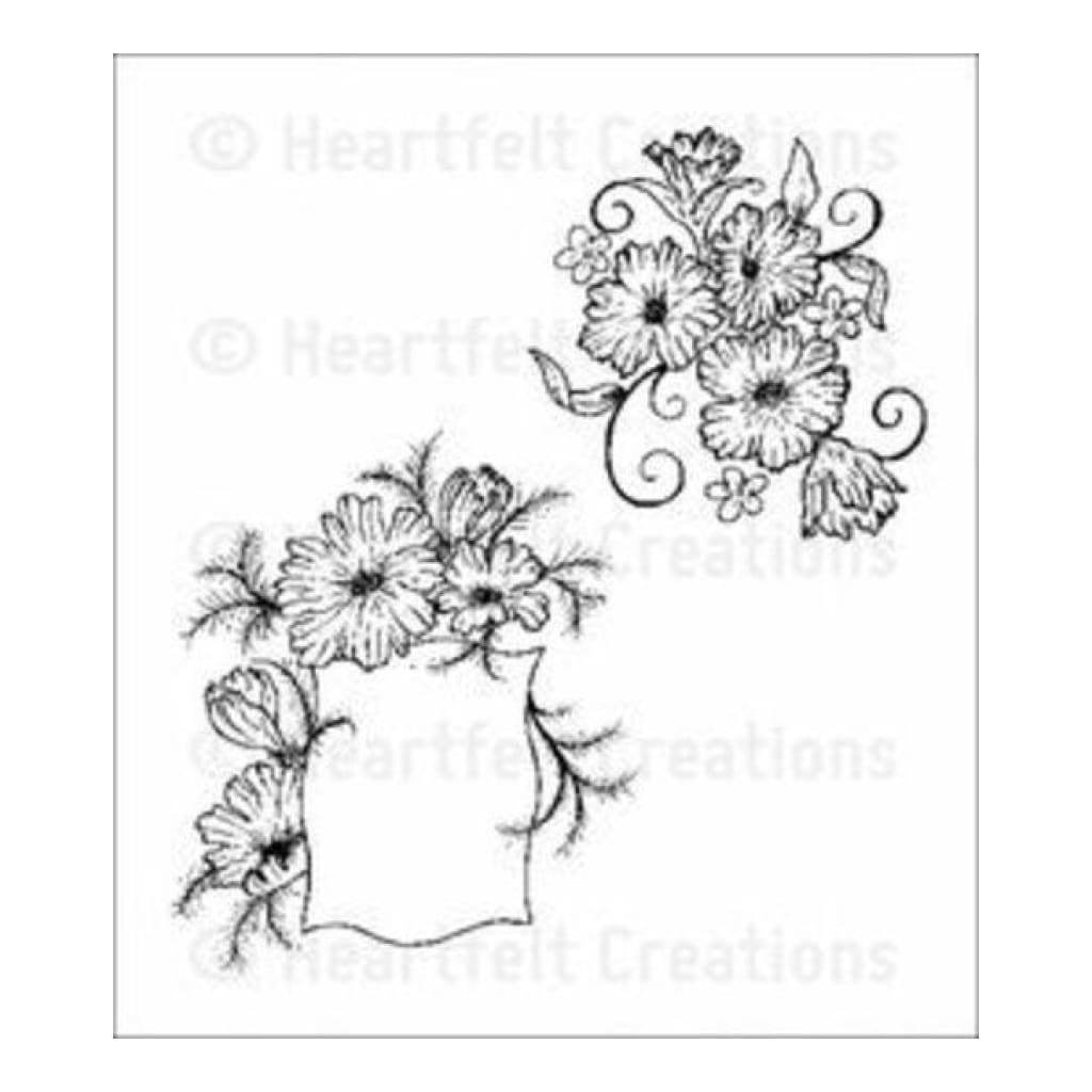 Heartfelt Creations Majestic Morning Stamps - Majestic Morning Accents