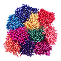 "Heartfelt Creations - Pearl Stamens Small 1mmX2.25"" 10 pack Bright"