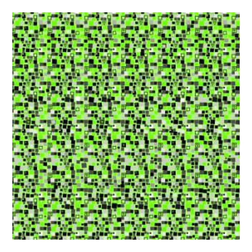 Heidi Grace Designs - Green Squares 12X12 Paper (Pack Of 10)