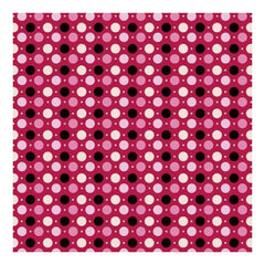 Heidi Grace - Love Blossoms - Dots With Flocking 12X12 Paper (Pack Of 5)
