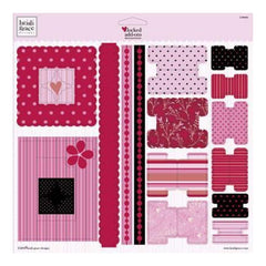 Heidi Grace - Love Blossoms - Flocked Add Ons Punchouts
