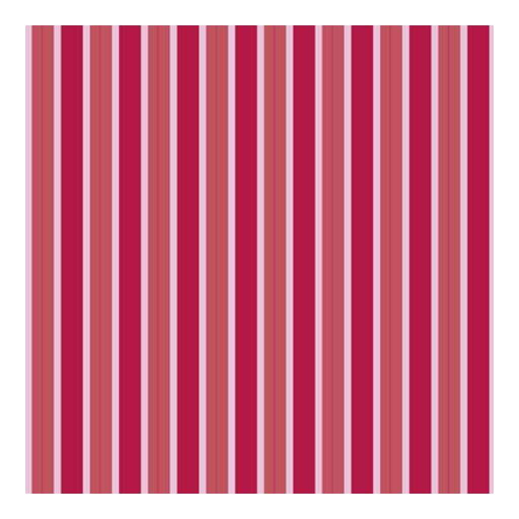 Heidi Grace - Love Blossoms - Stripes With Flocking 12X12 Paper (Pack Of 5)
