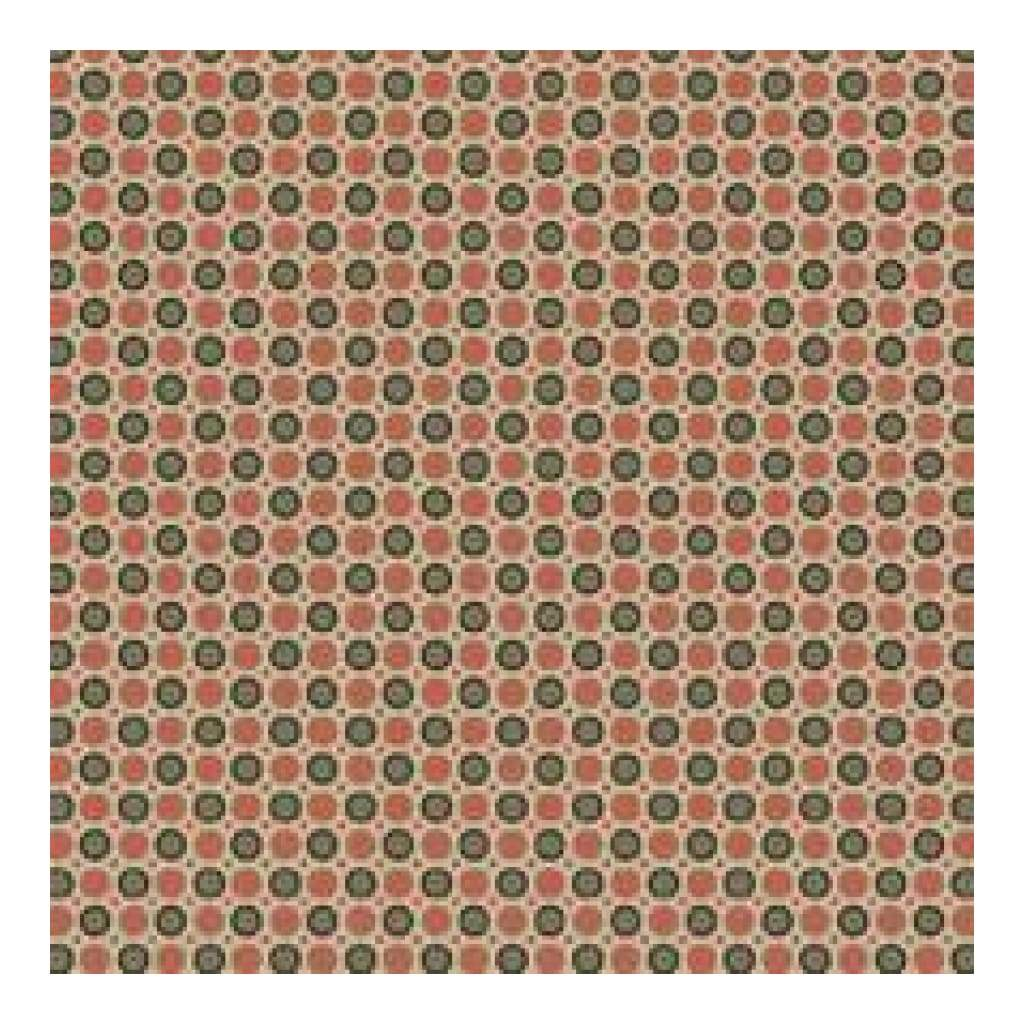 Heidi Grace - Maple - Dots With Flocking 12X12 Paper (Pack Of 5)