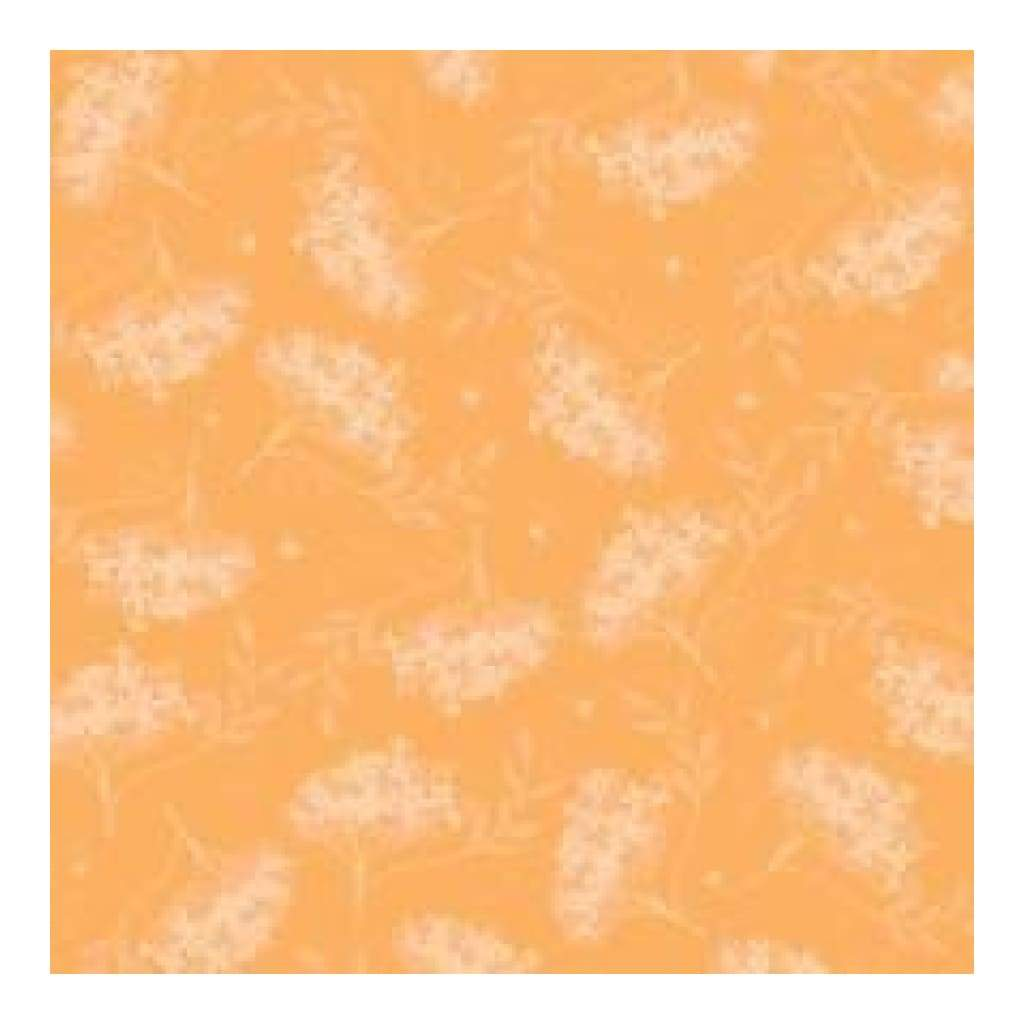 Heidi Grace - Marina - Floral With Flocking 12X12 Paper (Pack Of 5)