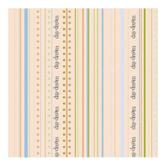 Heidi Grace - Pocket Scraps Day Dreamer Stripes 12X12 Glitter Paper (Pack Of 5)