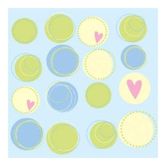 Heidi Grace - Pocket Scraps Inspire Me Circles 12X12 Glitter Paper (Pack Of 5)
