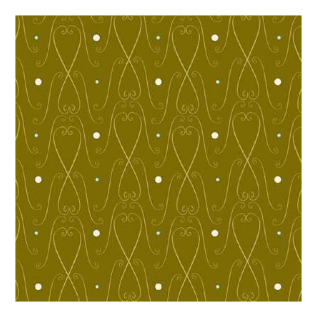 Heidi Grace - The Woodland - Woodland Trim With Glitter 12X12 Glitter Paper (Pack Of 5)