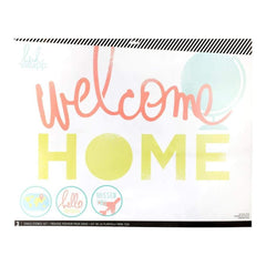 Heidi Swapp Chalk Art Stencils 27X21 inch 3 Pack - Welcome Home