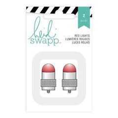 Heidi Swapp Paper Lantern Lights 2 Pack  Red