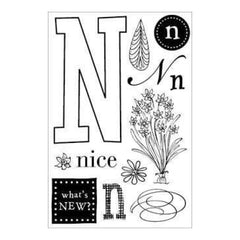 Hero Arts - Cleardesigns For Stamping - N
