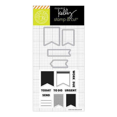 Hero Arts - Kelly Purkey Stamp & Cut Planner Banners