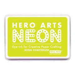 Hero Arts Neon Ink Pad - Chartreuse