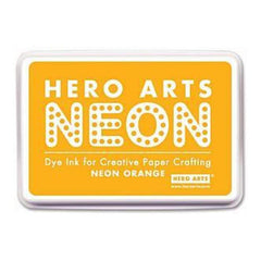 Hero Arts Neon Ink Pad - Orange