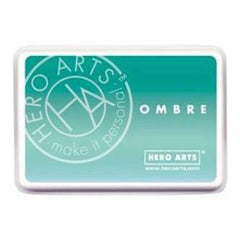 Hero Arts Ombre Ink Pad Mint To Green