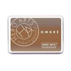 Hero Arts Ombre Ink Pad Sand To Chocolate Brown