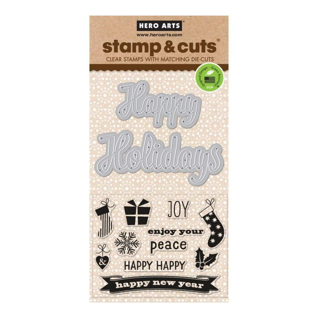 Hero Arts Stamp & Cuts Fancy Cut Holiday