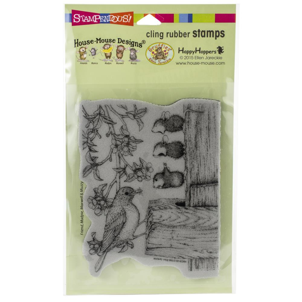 Stampendous House Mouse Cling Stamp Tweet Treat