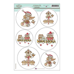 Hobby House -Daisy Mae Draws Topper Sheet 8.5 inch X12.2 inch A Christmas Tale