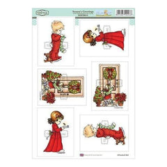 Hobby House - Elisabeth Bell Topper Sheet 8.3 Inch X12.2 Inch  Season's Greetings