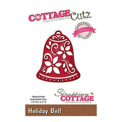 CottageCutz Holiday Bell Die (Elites)