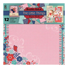Hot Off The Press Double-Sided Paper Pack 12 inch X12 inch 12 pack - The Little Things