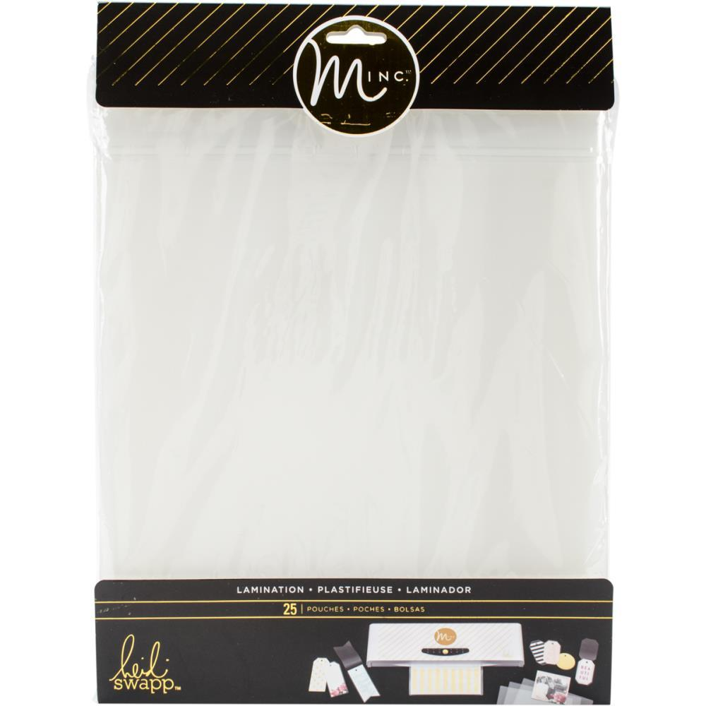 "Heidi Swapp Minc Lamination Photo Pouches 9""""X11.5"""" 25/Pkg"