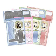 Hunkydory Crafts - Deco Delights A4 Card Kit Delightful Deco Tower