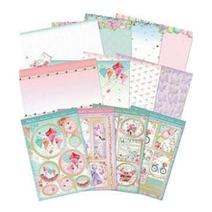 Hunkydory Crafts - Deluxe A4 Card Collection Happy Days Congratulations