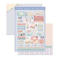 Hunkydory Crafts - Especially For Her A4 Topper Set Sweet Memories