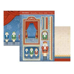 Hunkydory Crafts - Festive Splendour Topper Set A4 The Nutcracker Suite