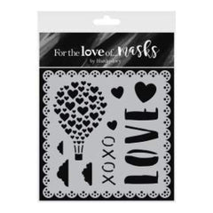 Hunkydory For The Love Of Masks 5.5inch X5.5inch Love Is In The Air