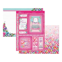 Hunkydory Mirri Magic A4 Topper Set - Love Letters