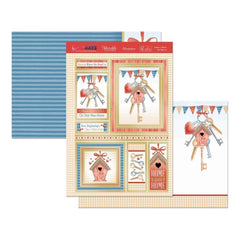 Hunkydory Special Days A4 Topper Set Home Is Where The Heart Is