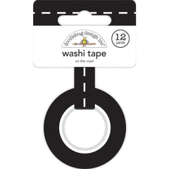 Doodlebug Washi Tape 15mmX12yd - On The Road, I Heart Travel