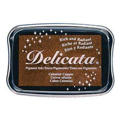 Imagine Crafts - Delicata Pigment Ink Pad Celestial Copper
