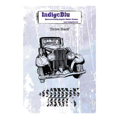 IndigoBlu Cling Mounted Stamp 5inch X4inch Drive Hard
