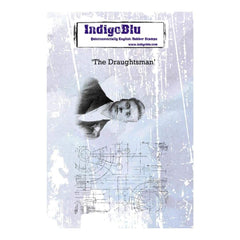 IndigoBlu Cling Mounted Stamp 5inch X4inch The Draughtsman