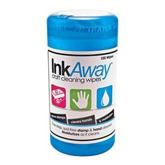 Ink Away Craft Cleaning Wipes 100 Pack