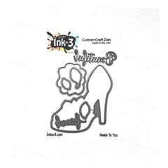 Ink On 3 - Heels To You Coordinating Die Cuts