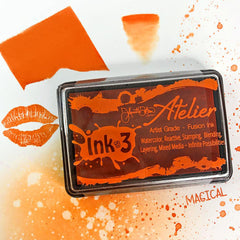 Ink On 3 - Artist Grade Fusion Ink Pad - Marigold Orange