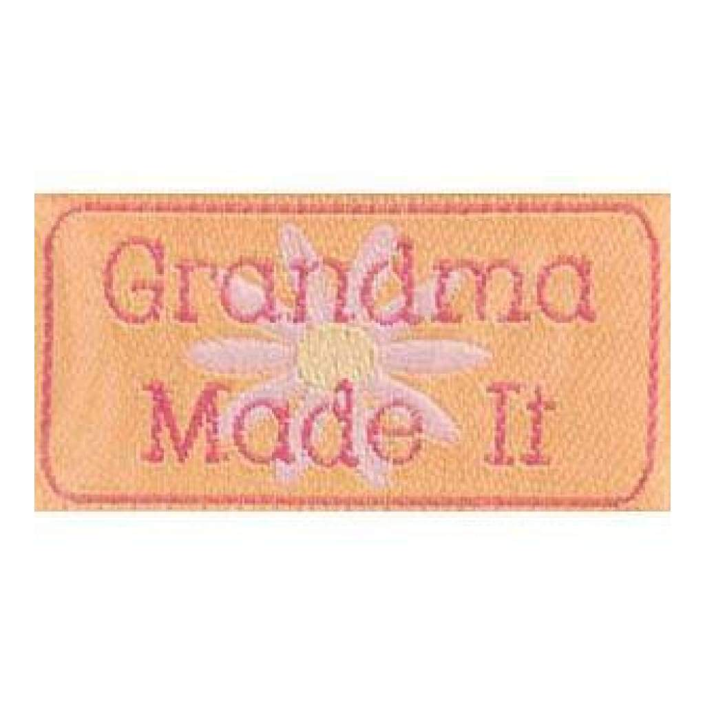 Iron-On Lovelabels 4 Pack - Grandma Made It