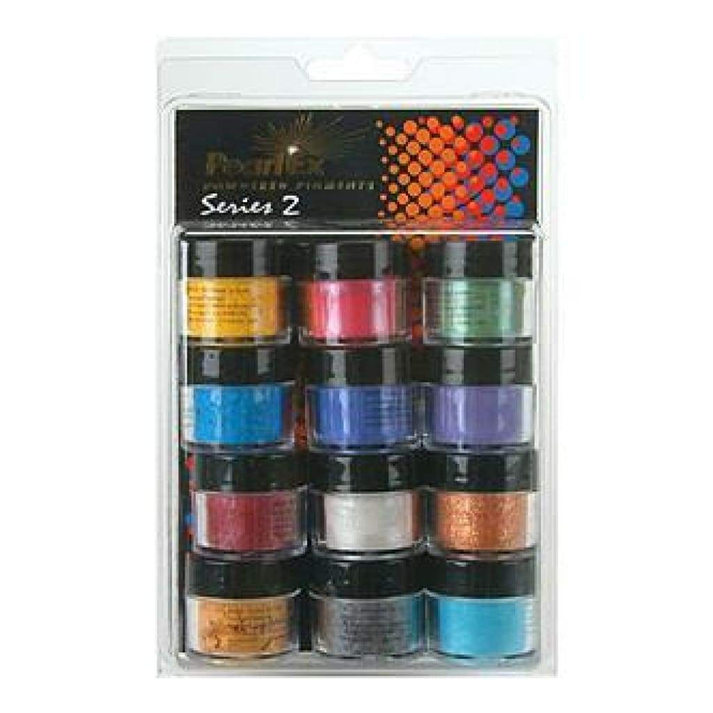 Jacquard Pearl Ex Powdered Pigments 3 Grams 12/Pkg - Series 2