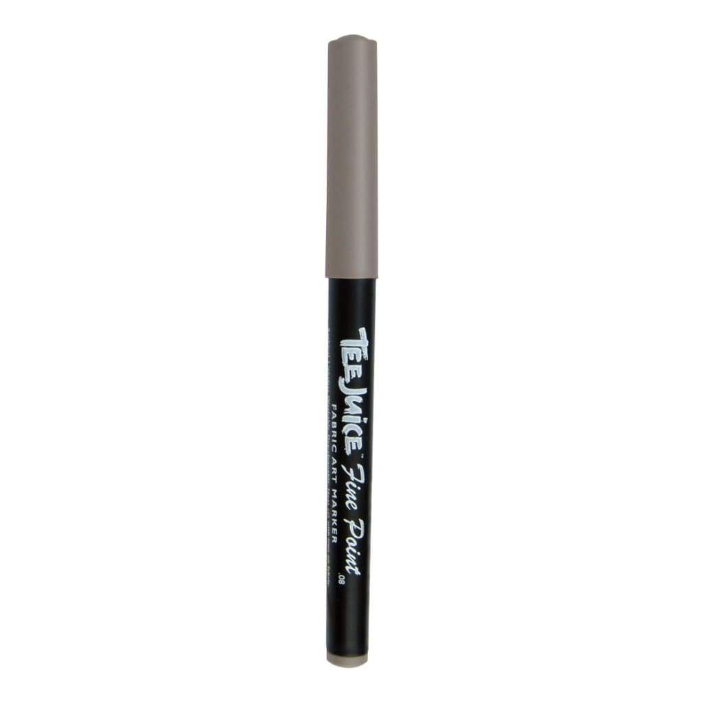 Jacquard Tee Juice Fine Point Fabric Marker Open Stock - Grey
